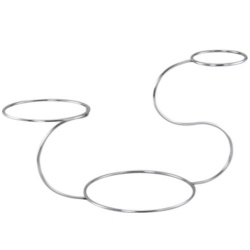 Chef-Hub Swan Shaped 3 Tier Wedding Cake Stand